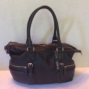 Cole Haan Pebbled Leather Hobo Shoulder Bag